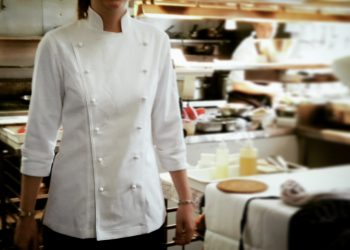 Female chef Jacket - Plain Jane r2r