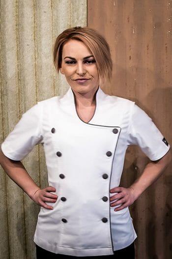 feminine chef Jackets