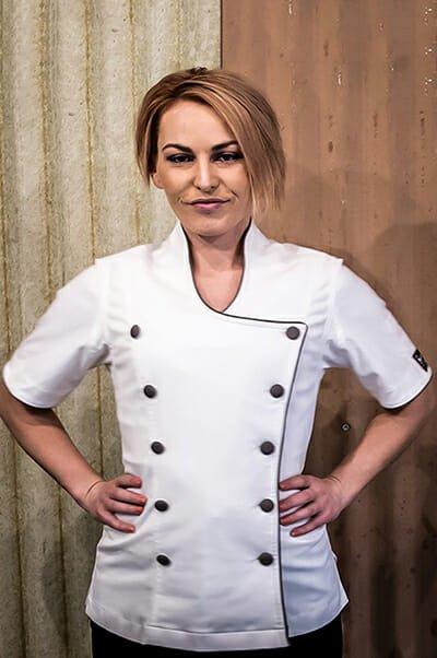 feminine chef Jacket
