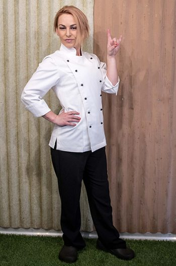 Womens chef jacket