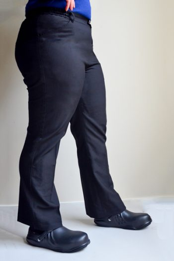 Women's Black Chef Pants
