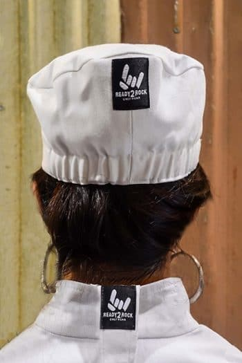 female chef hat