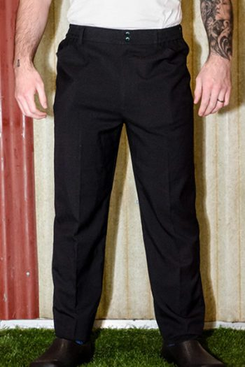 Mens Black Chef Pants