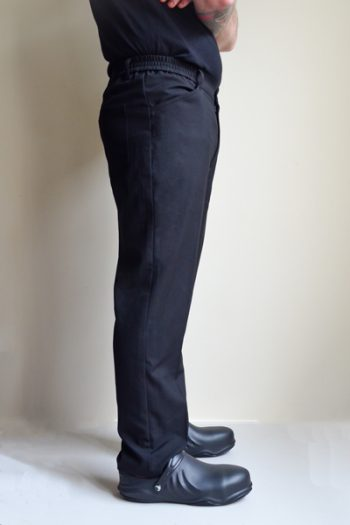 Men's Black Chef Pants