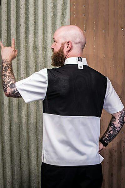 Mesh back chef Jacket