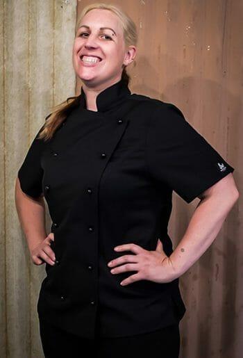 Black female chef Jacket