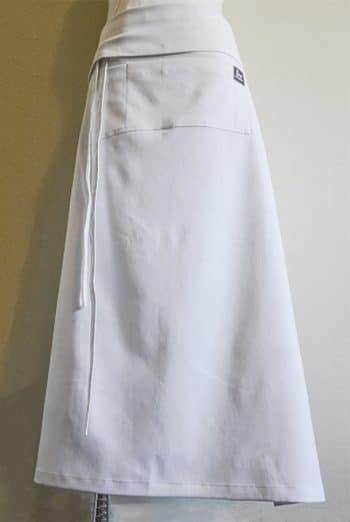Waisted White Chef Apron