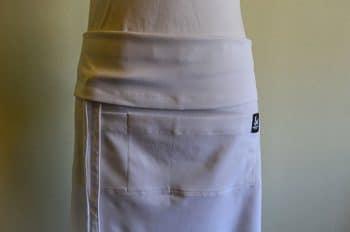 White waist chefs apron