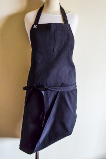 The 3 Way Apron- Black & Grey