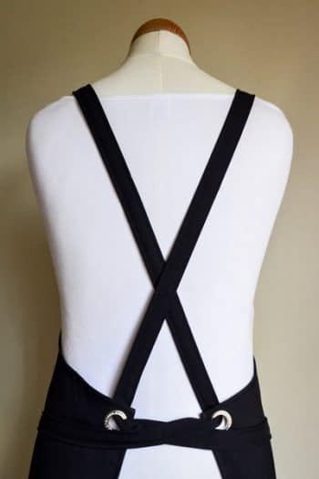 The Black Metal Criss-Cross Apron