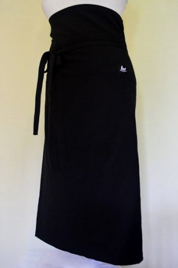 Waisted Black Chefs Apron