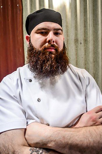 mesh chef hat