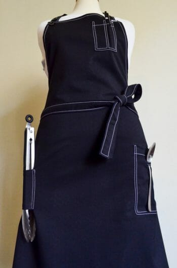 Jam packed Chefs Apron- with EVERY damn pocket!