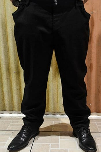 Black Waiter Pants
