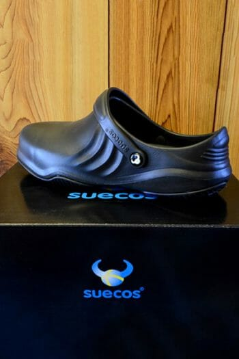 Suecos Magnus Chef Shoe – Black