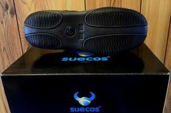 black chefs shoe