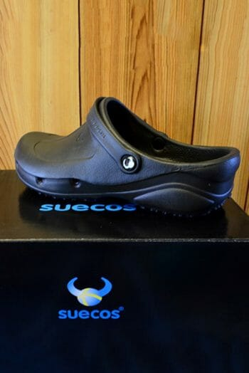 Suecos Thor Chef Shoe – Black