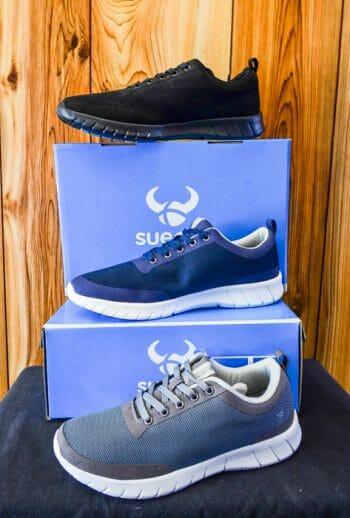 grey sneaker chef shoe
