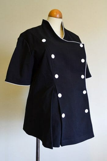 pregnant chef jacket