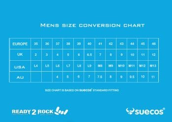 mens shoe size conversion