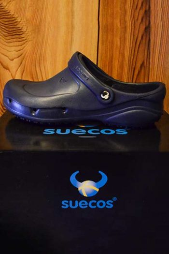 Suecos Thor Chef Shoe – Navy