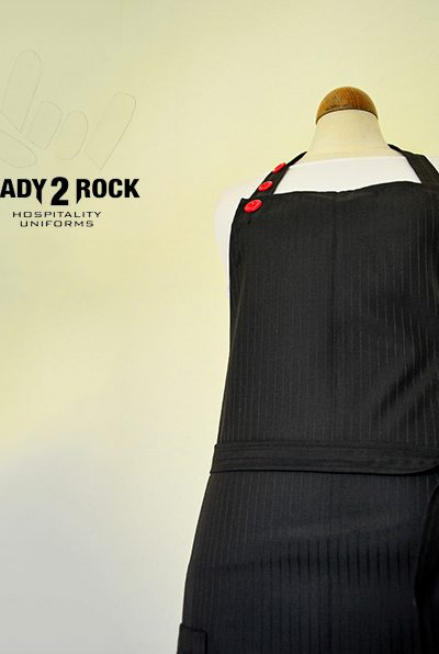 Red Button Deluxe apron