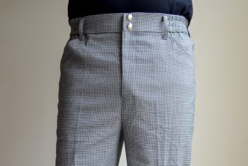 checker chef pants