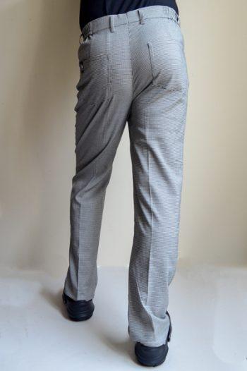 mens check chef pants