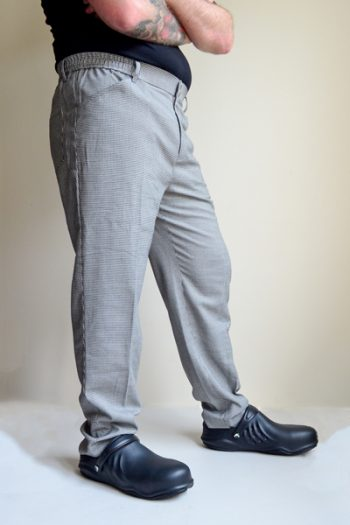 Men's Check Chef Pants