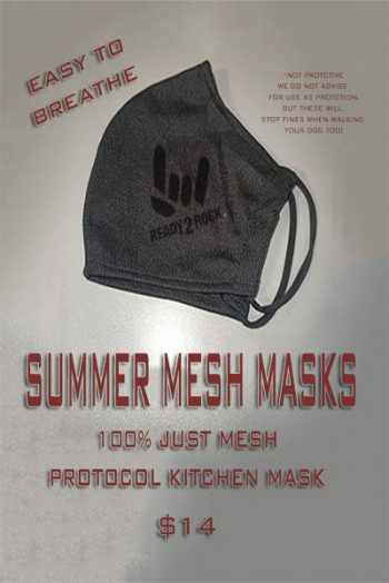 mesh face masks